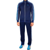 adidas Men's Essentials 3-Stripes Polyester Track Suit