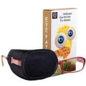 Plinrise Pure Cotton Amblyopia Eye Patch For Glasses,Treat Lazy Eye,Amblyopia And Strabismus,Eye Patch For Children,Regular Size