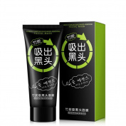 Blackhead Remover, Black Mask, Facial Exfoliators Cream Suction Cleaner Black Mask Tearing Resist Oily Skin Strawberry Nose Purifying Deep Cleansing Acne Remover Black Mud Peel-off Face Mask