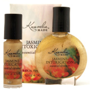 Kuumba Made Jasmine Intoxication Essential Shimmer Glitter and Fragrance Oil Perfume Radiant and Classical Floral Scent For Your Night Out (1/8 oz