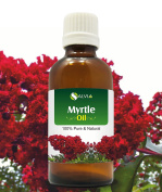 MYRTLE OIL 100% NATURAL PURE UNDILUTED UNCUT ESSENTIAL OIL 50ML