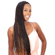 Shake N Go Que Volume 3X Tri Pack King Jumbo Braid Synthetic Hair