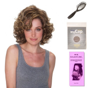 (4 Item Bundle) - (#BT-6031) Malibu by Belle Tress, Wig Brush, Booklet and a Free Wig Cap Liner.