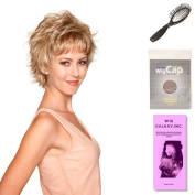 (4 Item Bundle) - (#BT-6016) Kai by Belle Tress, Wig Brush, Booklet and a Free Wig Cap Liner.