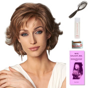 Everyday Elegant by Gabor, Wig Galaxy Hair Loss Booklet, 60ml Travel Size Wig Shampoo, Wig Cap, & Loop Brush (Bundle - 5 Items), Colour Chosen