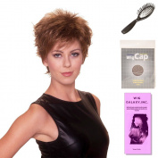 (4 Item Bundle) - (#BT-6021) Central Perk by Belle Tress, Wig Brush, Booklet and a Free Wig Cap Liner.