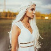 Uniwigs Long Loose Wave Blonde Colour Wig Heat Resistent Synthetic Fibre for Fashion Women