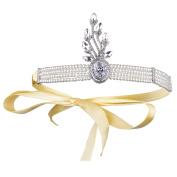 BABEYOND Art Deco Tiara 1920 Vintage Flapper Headband Great Gatsby Headband Wedding Hair Accessories