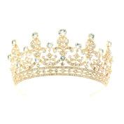 Crystal Rhinestone Bride Wedding Tiara Crown Hair Jewellery Accessories 17363
