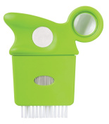 Diane Lice Comb with Magnifying Glass, Green