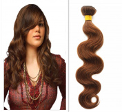 YAMI 7a Brazilian Body Wave 4# 3 Bundles Brazilian Virgin Hair 300g Hair Products Human Hair Weave Bundles Brown