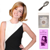 (4 Item Bundle) - (#BT-6035) Miss Macchiato by Belle Tress, Wig Brush, Booklet and a Free Wig Cap Liner.