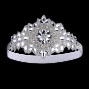 BABEYOND Women's Crystal Headband 1920s Gatsby Headpiece Wedding Hair Accessories for Bride
