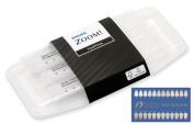 Philips Zoom NiteWhite Quick ACP 22% Teeth Whitening Kit w/ NuBox Tooth Shade Card Bundle