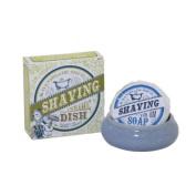 The Handmade Soap Co Shaving Dish including Soap