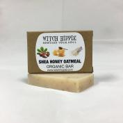 SHEA HONEY OATMEAL 30ml ORGANIC SOAP BAR BY WITCH HIPPIE
