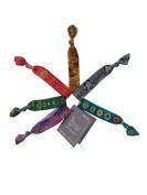 Simbi bracelet / hair tie / 6 PAK (6Pak/Vintage Haiti) by Simbi
