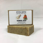OATMEAL SPICE 120ml ORGANIC SOAP BAR BY WITCH HIPPIE