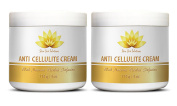 Cellulite fix - ANTI CELLULITE CREAM with Natural Herbal Infusion - Beauty health care - 2 Jars