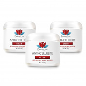 Skin - ANTI CELLULITE CREAM (with Natural Herbal Infusion) - Anti cellulite skin - 3 Jars