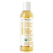 Alteya Organic Facial Cleanser & Wash 150ml - Grapefruit and Zdravetz - USDA Certified Organic 100% Biodegradable Soap - Clarifying and Detoxifying for Combination Oily Skin