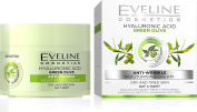 Eveline Cosmetics Nature Line 3D Green Olive Anti-Wrinkle Moisturising Cream Intensely Firming Rejuvenating Day And Night Cream , Reducing Wrinkles, Fine Lines, Age Spots For Dry And Tired Skin