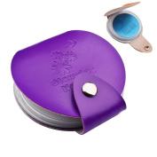 Leather Nail Art Stamping Plate Case/bag/folder Nail Stamp Template Holder Album Storage