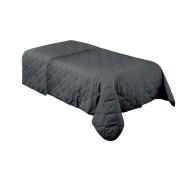 For Pro 310025 Forpro Premium Quilted Blanket, Cool Grey