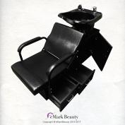ABS Plastic Backwash Shampoo Bowl on Floor Cabinet TLC-13C-T-Drawer
