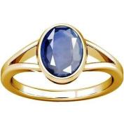 Divya Shakti 12.25 - 12.50 Carat Blue Sapphire Stone Ring ( Nilam / Neelam Stone Panchadhatu Ring ) 100% Original AAA Quality Gemstone