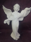 Atlantic Nativity 13cm Angel ready to paint ceramic bisque