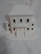 Village Gaol 15cm ready to paint ceramic bisque
