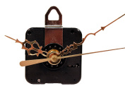 Creative Hobbies Quartz Clock Motor Movement, C91MQM, 1.6cm Max Dial Thickness, 1.7cm Threaded Shaft Length, Complete Kit