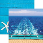 Caribbean Cruise - Set Sail 12x12 Scrapbook Paper - 5 Sheets by Reminisce