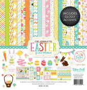 Echo Park Paper Company CE121016 Celebrate Easter Collection Kit