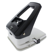 Desktop ID Card Hole Punch Tool for Name Badges - Three in One Slot Puncher with Guide