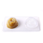 4 Cavity Summer Rose Soap/Bath Bomb Mould Mould C11 by World Of Moulds