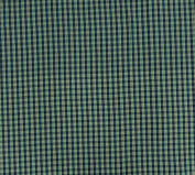 Dressmaking Crafting Cotton Fabric Cheque Printed Supply 150cm By The Yard