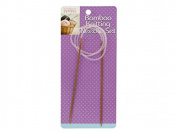 Circular Bamboo Knitting Needle Set - Pack of 24