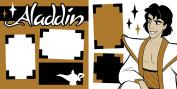 """Aladdin"" ASSEMBLED Scrapbook Pages"