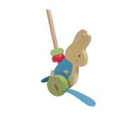Beatrix Potter Peter Rabbit Wood Push Toy