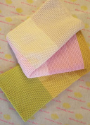Rainbow Collection - Cotton Baby Blanket by Pink Lemonade - 100% cotton/knitted- Colour Melody