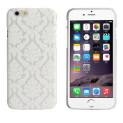 For iphone 6 12cm , Mchoice Mandala Flower Pattern Clear Hard Case Cover Skin for iphone 6 12cm