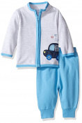 Rene Rofe Baby Boys' 2 Piece Zip Front Cardigan Set