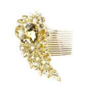 Bridal decorative hair comb - Diamante