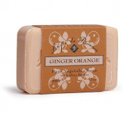 12 Bars of L'epi de Provence Triple Milled Ginger Orange Shea Butter Vegetable Soaps from France 200g