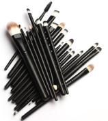 MELADY20pcs Multi-function Pro Cosmetic Powder Foundation Eyeshadow Eyeliner Lip Makeup Brushes Sets