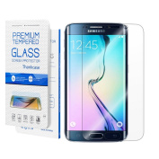 Galaxy S7 Screen Protector,Galaxy S7 Tempered Glass Screen Protector,Thinkcase Full Coverage Screen Protector for Samsung Galaxy S7