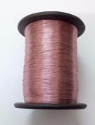 PINK - Spool of Shiny Metallic Thread Yarn - For Crochet Sewing Embroidery Handwork Artwork Jewellery