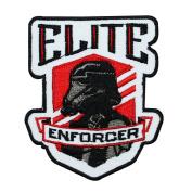 "Death Trooper ""Elite Enforcer"" Iron-On Patch Star Wars Craft Decoration Applique"